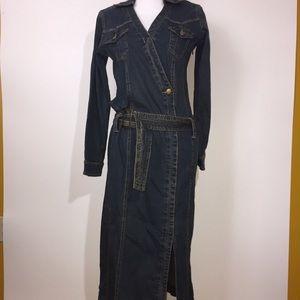 Forenza vintage denim dress EUC